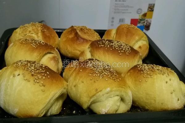 蜂蜜芝麻小面包