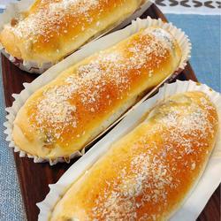 超软椰蓉葡萄干小面包的做法[图]