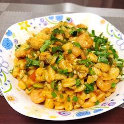海鲜焖麻食
