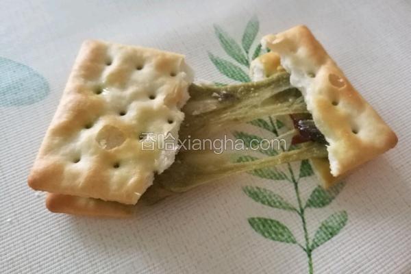 抹茶蜜豆牛扎饼干