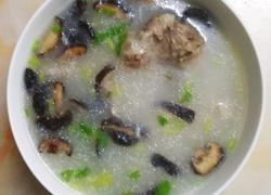 大骨干贝香菇粥