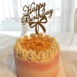 曲奇花生日蛋糕(六寸)