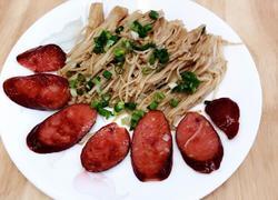 香煎金针菇