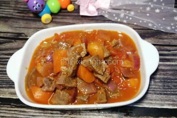 #河北家乡菜#番茄炖牛腩