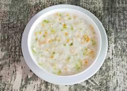 什蔬鱼肉粥 (宝宝辅食)