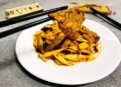 辣炒竹笋肉