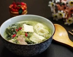 雪里蕻炖豆腐[图]