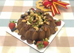 巧克力坚果戚风蛋糕
