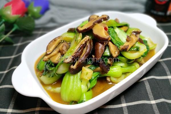 香菇酱青菜