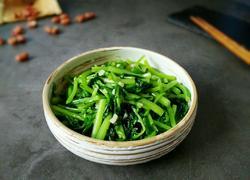 清炒蒜蓉茼蒿