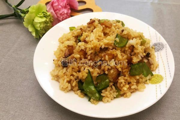 四川-腊肉炒饭