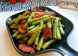 肉炒四季豆