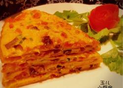 四川-番茄牛肉蛋饼
