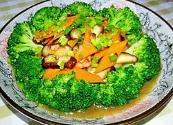 香菇爆炒西蓝花