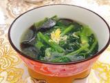 皮蛋虾皮菠菜汤的做法[图]