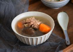 胡萝卜香菇骨头汤