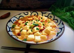 葱香剁椒南豆腐