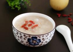 燕麦雪梨糯米粥