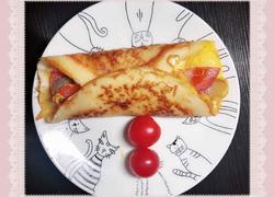 芝士鸡蛋卷饼