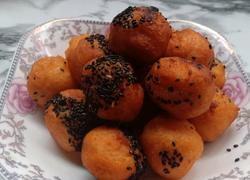 油炸红薯丸子