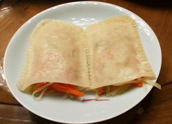 胡萝卜土豆丝口袋饼