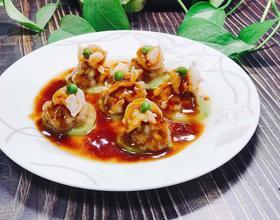 西葫芦酿肉[图]