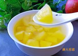 苹果柠檬水