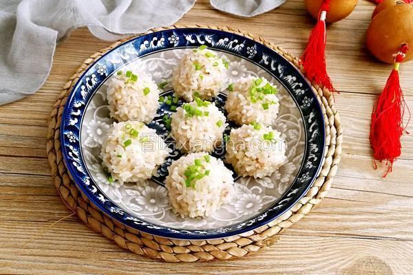 豆腐珍珠丸子
