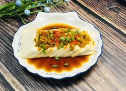 榨菜蒸豆腐