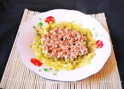 肉沫蒸芹菜