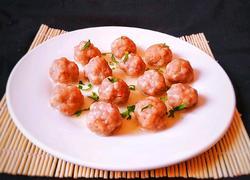 鲜虾猪肉丸