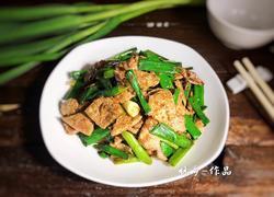 蒜苗炒猪肝