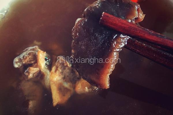 陈年萝卜干(老菜脯)炖骨头汤