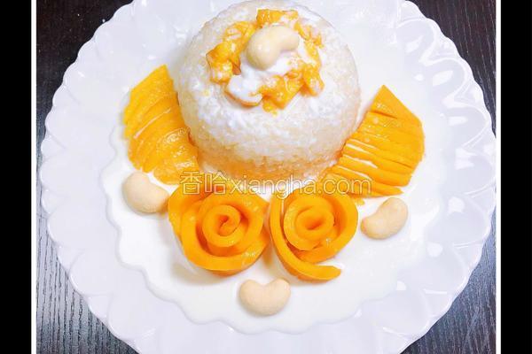 泰式椰浆芒果糯米饭