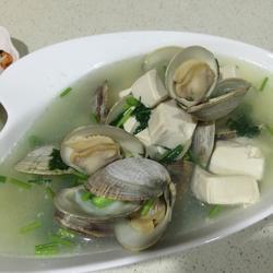 百贝豆腐汤