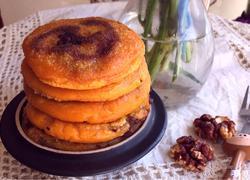 红糖核桃南瓜饼