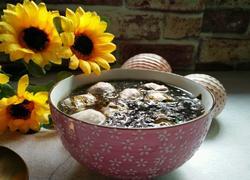紫菜白肉丸子汤