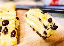 蜜豆卡仕达酱蛋糕卷
