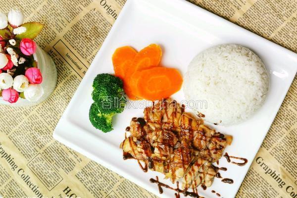 日式烧汁鸡扒饭