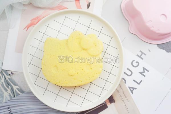 无水无油酸奶蛋糕