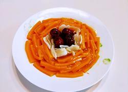 红枣南瓜蒸百合