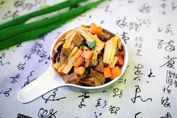 牛肉腐竹煲