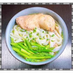 芦笋鸡汤酿皮