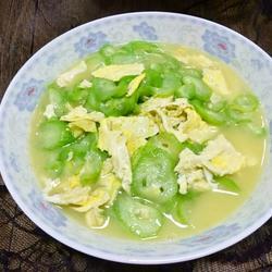 丝瓜炒鸡蛋的做法[图]