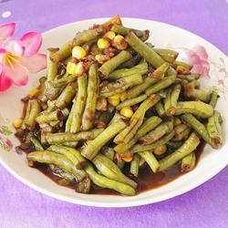玉米炒豇豆的做法[图]