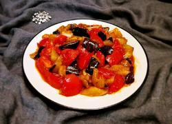 西红柿烧茄子(少油)