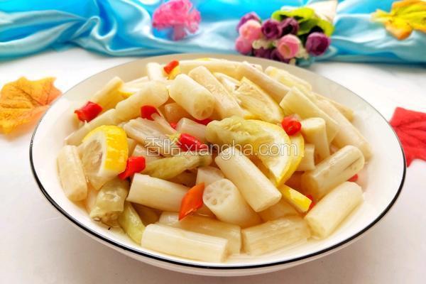 柠檬泡椒藕带