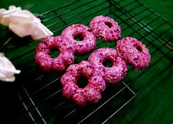 紫薯燕麦甜甜圈