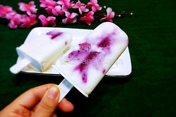 火龙果奶糕