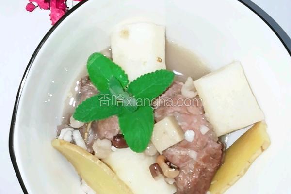 薏米 红豆 芡实 茯苓 山药 骨头汤